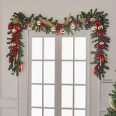 JOY Pre-Lit Forever Fragrant® Holiday Scented Garland - New Deko Sites Diy Christmas Garland, Diy Christmas Decorations Easy, Etsy Christmas, Rustic Christmas, Christmas Home, Christmas Lights, Christmas Holidays, White Christmas, Christmas Movies
