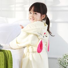 Hooded kids bathrobe Hooded Bath Towels 354c3d7ef