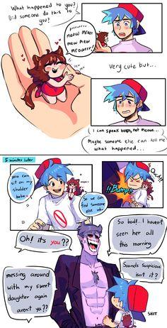 Cute Drawlings, Villainous Cartoon, Mlp Fan Art, Animes Yandere, Fright Night, Anime Couples Drawings, Stuff And Thangs, Pokemon, Fanart