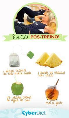Suco Pos Treino