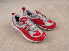 finest selection 1d782 3a1ca Nike Lab Air Max 98 Supreme Varsity Red 844694-600 Air Max, Supreme
