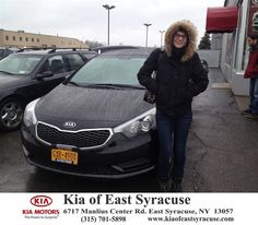 Congratulations to Autumn Beechner on your #Kia #Forte purchase from Michael Secules at Kia of East Syracuse! #NewCar