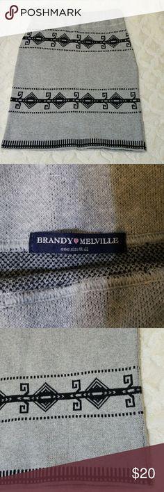 Brandi Melville Cotton Skirt Perfect for this season! Brandy Melville Skirts