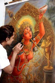Painting Vajrayogini