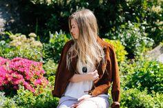 charlotte sjusdal blogg blogger fashion fashionblog style styleblog outfit ootd outfitblog fashionblogger styleblogger leather jacket brown rayban shorts 2