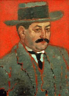RIPPI-RONAI - Retrato de Marcell Nemes József de 1912. Museo de Kaposvár