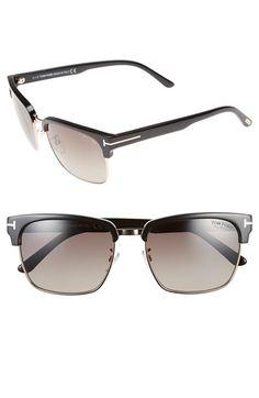 356b81059fa Tom Ford  River  57mm Polarized Sunglasses available at  Nordstrom Polarized  Sunglasses
