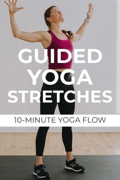 Add this quick, 10-minute recovery yoga flow to your fitness routine 1-2 times a week. We're flowing through 8 of my favorite full body yoga stretches designed to release tight muscles and support muscle recovery! Prenatal Yoga Poses, Morning Yoga Flow, Stress Yoga, Yoga Sculpt, Butt Workout, Body Workouts, 10 Minute Workout, Muscle Recovery, Low Impact Workout