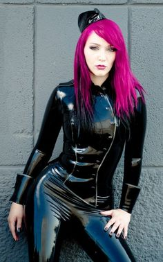 latex #Goth girls  and latex catsuits girls  Fetish Latex, Rubber,