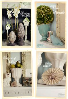 Decorating a Mantel {Botanical Print Inspiration}