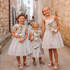 How cute are this flowergirls with heart of babies breath on a wand handle? Wedding Flower Arrangements, Wedding Bouquets, Wedding Dresses, Flower Girls, Flower Girl Dresses, Babies Breath, Rings For Girls, Flower Designs, Wands