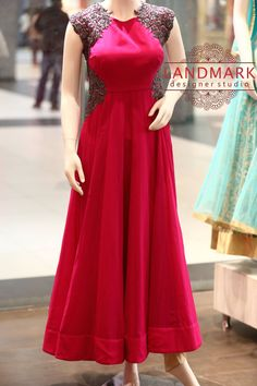 Something  for your next      Elante,Chandigarh North Country Mall Indian Clothes, Indian Dresses, Indian Outfits, Indian Attire, Indian Wear, Designer Kurtis, Designer Dresses, Simple Anarkali, Blue Frock