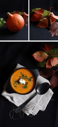 Le velouté de potimarron au lait de coco, une soupe de saison, réconfortante et pleine de saveurs idéale pour débuter ce mois d'octobre...