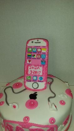 IPhone Birthday Cake Los Angeles CA