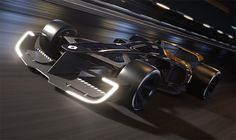 Renault has unveiled the futuristic R. 2027 Vision concept racing car at the Shanghai Auto Show. The design study embodies Renault's vision of Formula 1 in the year when the French carmaker says there will be a greater focus on the drivers and […] Group Cover Photo, Formula E, Cool Sports Cars, F1 Racing, Hd Backgrounds, Ford Gt, New And Used Cars, Future Car, A Decade