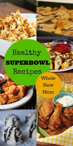Healthy Superbowl Recipes – real delicious real food!
