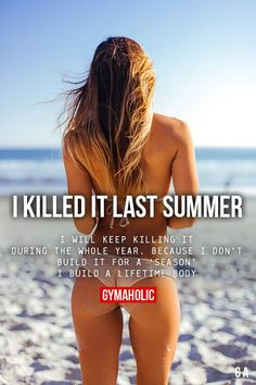 Did you kill it last summer ?? or has it been a few summers ?? Most of want to look & feel good during the summer months BUT being healthy & fit is about a permanent lifestyle NOT a season !! Staying motivated & dedicated throughout the year can be hard - we know !!! So my team & I invite YOU to our FREE Health & Fitness Community called Move IT - Sweat IT - Achieve IT >> No matter what your health & fitness level is we will help push you to new levels