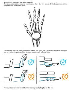 International House of Give No Shits — sarahculture: Tips on Drawing Hands Tutorial ...