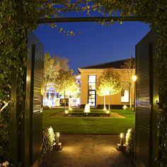 Iluminacion nocturna La Quinta de Jarama bodas y eventos
