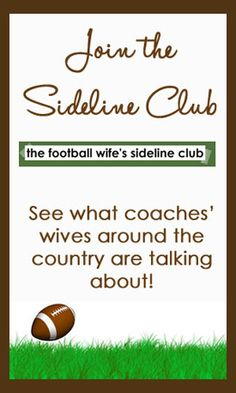 Football Coach's Wife & NC Mom Blogger | The Football Wife