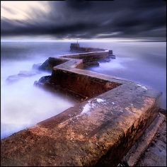St Monans Pier - Scotland.I want to visit here one day.Please check out my website thanks. www.photopix.co.nz