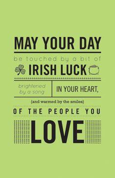 I <3 spending St. Patrick's day with my wonderful Irish husband and beautiful Irish children! :)