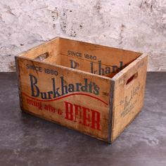 Burkhardt's Beer Crates - Kitchen
