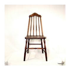 Pull Up a Chair Antique Wood Chair 1930s Taper by CityBeepster