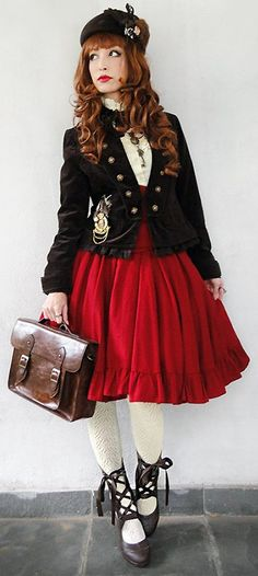 Lolita ~~ For more:  - ✯ http://www.pinterest.com/PinFantasy/lifestyles-~-lolita-style-fashion-and-fantasy/