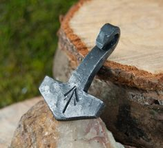 Check out this item in my Etsy shop https://www.etsy.com/listing/214476286/flat-metal-finish-hand-forged-thors