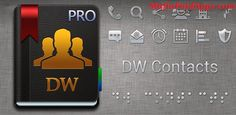 """DW Contacts & Phone & Dialer v3.0.2.1-pro APK   DW Contacts & Phone  Is a powerful (MUST HAVE) extension for your stock dialer contacts and phone management application  It focuses on business functions. Improve the efficiency of your work.  KEY FEATURES ------------  Search contacts by any field  Write notes to the call log  Create and manage reminders for contacts  Speak caller ID  Show """"Missed calls"""" ring time  Unlimited call log  Support VoIP: System SIP Viber Skype Fring GrooVe IP Lite…"""