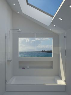 38 Adorable Bathroom Designs With View | DigsDigs