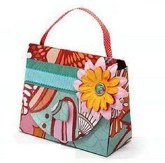 Giftbag - Phototutorial and free template