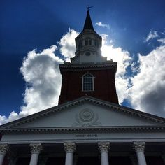 The Light of the Gospel shines from this treasured beacon, Binkley Chapel, Southeastern Baptist Theological Seminary, Wake Forest, NC