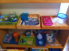 How I create and organize TEACCH tasks into our Afterschool routine by Creative Learning Fun