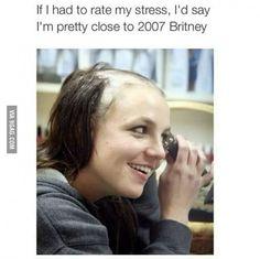 Stress level : Britney Spears