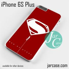 Man of Steel YDP Phone case for iPhone 6S Plus and other iPhone devices