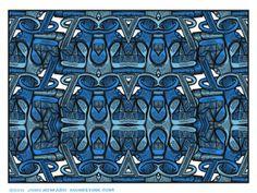 Blue Deck  by John Howard