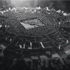 maze runner   The Map Room in The Maze Runner movie   The Maze Runner   Pinterest ...