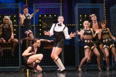 Will Young as the Emcee in Cabaret at the Savoy theatre