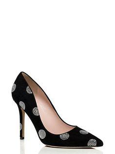 New $350 Kate Spade New York Womens Libby Dress Pumps Heels Black 6.5 M  #katespadenewyork #Doesnotapply #SpecialOccasion