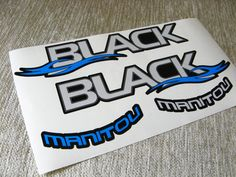 Manitou Black Fork Replacement/Colored sticker on the от Velomoto