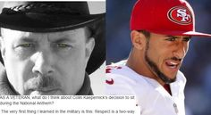 Veteran defends football player who won't stand for national anthem - EVERY American needs to read this.