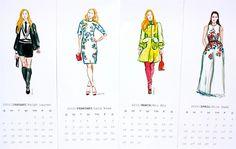 Retour à l'école de mode Illustration par bbriggsillustration