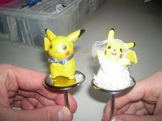Pikachu cake toppers. Someone make this happen for me. PLEASE PLEASE PLEASE.