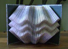 Folded book art