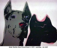 Great Dane by Andy Warhol