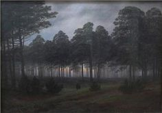 Evening - Caspar David Friedrich