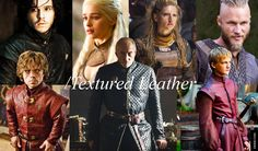 Season 4 Rich with Leather Costumes ... Textured Leather