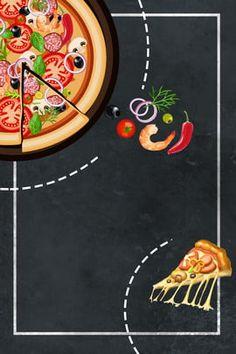 Delicious Pizza With Western Hd Image, Pizza Flyer, Pizza Menu, Pizza Restaurant, Pizza Pizza, Logo Pizza, Pizza Takeaway, Pizza Background, Creative Gourmet, Pizzeria Design